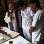 Detentos recebem sacramentos em Coxim (MS)