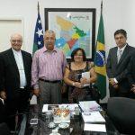 PCr e arcebispo de Aracaju encontram-se com governador de Sergipe