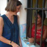 Heidi Cerneka envia mensagem de agradecimento à Pastoral Carcerária