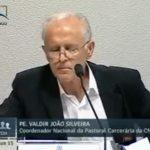 Padre Valdir: 'quanto mais se prende, mais aumenta a criminalidade no País'