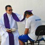 Em Teresina (PI), PCr realiza pela primeira vez missa ao ar livre em casa de custódia