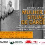 Pastoral Carcerária participa de seminário sobre mulheres encarceradas