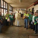 Em Mato Grosso do Sul, presas têm momento de fé diante do Santíssimo Sacramento