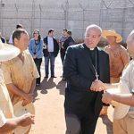 Secretário da Congregação para os bispos visita CDP de Pontal