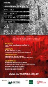 Cartaz Relatorio Tortura