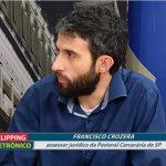 Francisco Crozera participa de programa na TV Câmara sobre Massacre do Carandiru