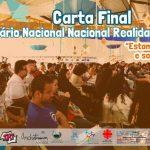 CARTA FINAL DO SEMINÁRIO NACIONAL REALIDADES JUVENIS
