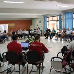 No primeiro dia de assembleia, agentes da Pastoral Carcerária refletem sobre sua identidade e missão como Pastoral Social