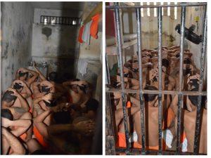 """""""Era para caber 6, mas cabem 26"""", essa é a situação do sistema prisional do Ceará"""